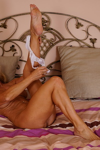 Hot naughty housewife playing with herself